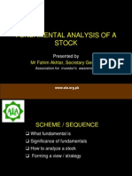 Fundamenals of Stock