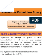 Substantive Patent Law Treaty