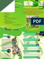 """CAJAMARCA - PERÚ PRIMER FORO INTERNACIONAL """"AGRO ECO EFICIENCIA y TURISMO GLOBAL"""""""