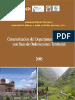 Caracterizacion Cusco