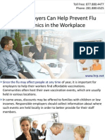 How Employers Can Help Prevent Flu Epidemics in the Workplace