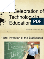 A Celebration of Technology in  Education
