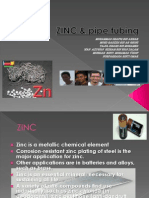 ZINC & Pipe Tubing
