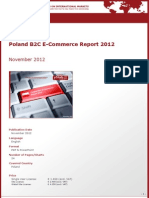 Brochure & Order Form_Poland B2C E-Commerce Report 2012_by yStats.com