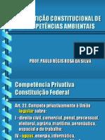 Reparticao Constitucional de Competenciais Ambientais