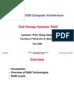 Disk Storage Systems RAID