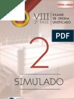 137 2 Simulado Oab 2fase Viii Exame Dir Administrativo