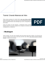 Tutorial_ Criando Materiais de Vidro « Blender Total