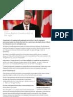 Harper Destroys Social Programs - 2012-09-26