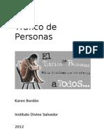 Informe de Trata de Personas