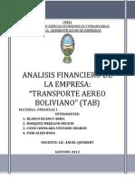 Transporte Aereo Boliviano