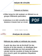Analyse Des Circuits
