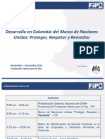 Presentación Actividad 2.5 talleres regionales