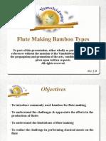 Vamshidwani - Flute Making Bamboo Types