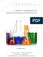 Intertek_guide to REACH Obligations for Electrical Manufacturers
