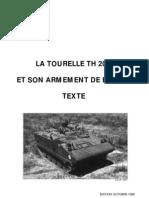 [Armor] - [Manuals] - La Tourelle TH20 AMX10P Et Son Armement de Bord Texte Et Figures
