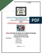 FACTORES DE RIESGO EN LA CÁRCEL DE MUJERES DE QUITO TERMINADO