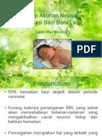 Konsep Bayi Baru Lahir dan Adaptasi Neonatus