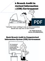 MS - Bank Branch Audit in CIS Environment