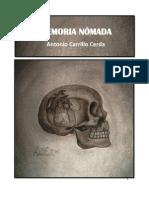 Memoria nómada - Antonio Carrillo Cerda - México - 2011 - Poesía