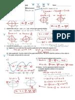 Trig Equations Identites QUIZ SOLUTIONS