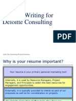 Resume Writing Workshop