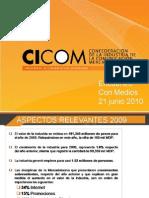 Visión CICOM del valor de la industria 2010