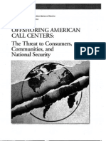 Offshoring American Call Centers
