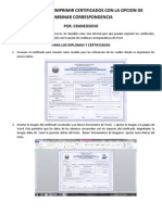 Tutorial Como Imprimir Certificados Con La Opcion de Combinar Correspondencia