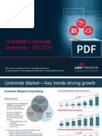 Unitrends Corporate Overview 1123short