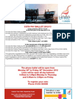 Offshore caterers flyer