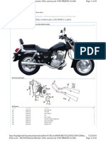 Baja Parts Catalog PX250S Motorcycle VIN Prefix LUAH