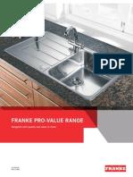 Franke+Pro Value+Range