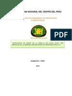 Maquinarias(Pre Informe Obtencion Del Aceite Sa