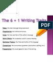 6 and 1 Writing Traits