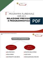 Relazione Previsionale e Programmatica 2011
