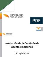 Instalación Asuntos Indígenas - Estado actual en materia de derechos de los pueblos indígenas