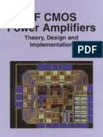 RF CMOS Power Amplifier - Theory Design and Implementation (