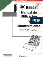 Manual Operacion Mantenimiento Minicargador s130 Bobcat