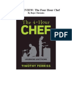 BookReviewThe Four Hour Chef - HowToLearnAnything