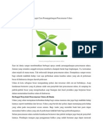 Berbagai Cara Penanggulangan Pencemaran Udara