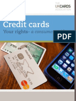 Credit cards - your rights - UK