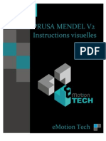 Prusa Mendel V2 Visual Instructions FRENCH