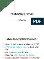 Antitubercular Drugs