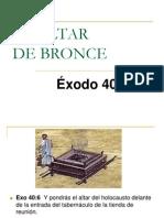 EL ALTAR de Bronce