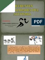 Diferentes Modalidades de Atletismo