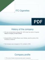 ITC Cigarettes
