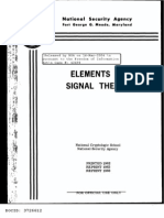 Elements of Signal Theory