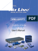 AirLive WMU-6500FS Manual