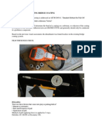 PULL OFF TEST- Adhesion testing